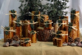 Forest / Wood Candles